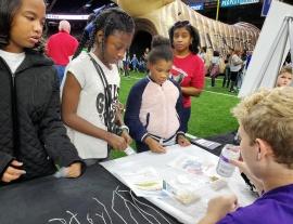 N.O. Pelicans & Saints STEM Fest presented by Chevron a Huge Success